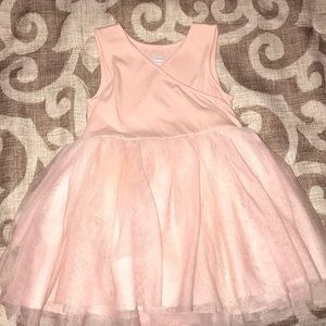 Pink Casual Tull dress